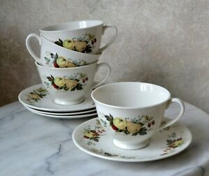 Royal-Doulton-Miramont-TC1022-Fine-China-TEA-SET-SERVICE-FOR-3-cups-saucers