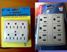 Power Multipler 6-Outlet - NEW in Package By Chicago Electric, HFT or Sunbeam