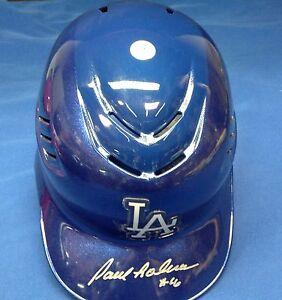 Paul Lo Duca Signed Los Angeles Dodgers Full Size Helmet PSA/DNA Cert #4A88843