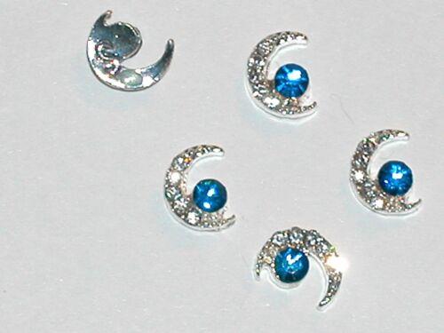 2pc Miniature Dollhouse TINY little crystal ELEPHANTS bail findings flatbacks *~