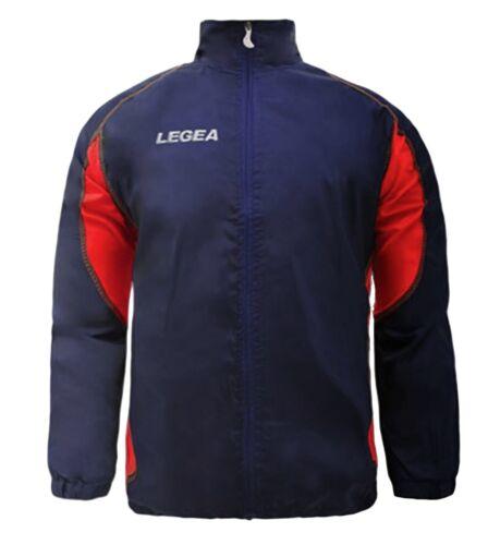 Giubbotto Giacca Jacket Rain Storm Anti Pioggia LEGEA Uomo Bambino Sport Spor...