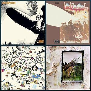 Led Zeppelin Albums Bundle I Ii Iii Iv