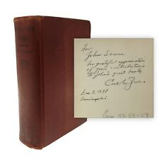 1938 1st Ed GREATER MAGIC SIGNED & INSCRIBED Carl Jones to JOHN SCARNE V/RARE