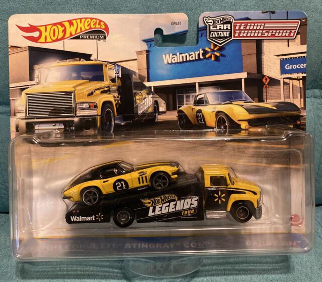 Hot Wheels Legends Tour Team Transport Walmart Custom Corvette Stingray Coupe