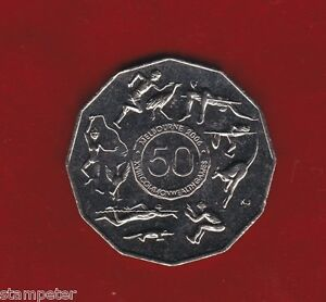 2005-Commonwealth-Games-Student-Design-Unc-50cent-Coin