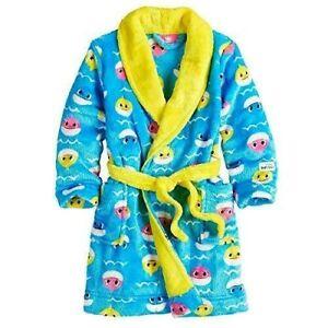 Boys Girls 3T 4T 5T BABY SHARK Doo Pinkfong Fleece Footed Pajama Blanket Sleeper