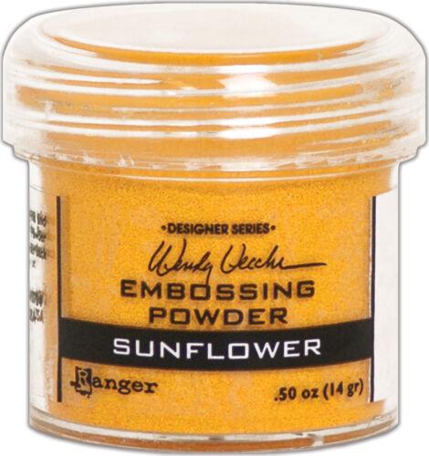 Sunflower Wendy Vecchi Embossing Powder