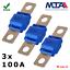 Indexbild 1 - 100A MIDI Sicherung KFZ Schraubsicherung Auto MTA Qualitätsware 3 Stück