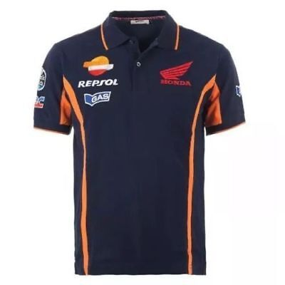 2019 New Honda Repsol Moto Gp Gas T-shirt Racing Hot Grande Assortimento