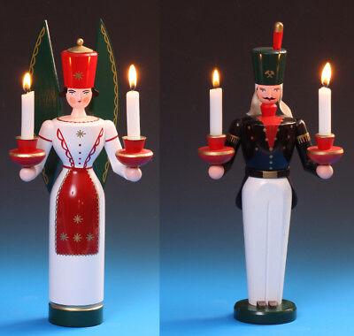 LED-Lichterengel Schalling Taufe Hochzeit Schutzengel Taufengel Engel Erzgebirge
