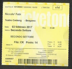 Niccolo-Fabi-Tiket-Ingresso-Teatro-Creberg-Bergamo-3-2-2017