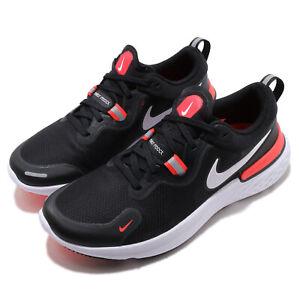 Nike React Miler Black White Laser Crimson Men Running Shoes Sneakers CW1777-001