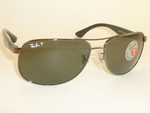 1aa1c4b792 Details about New RAY BAN Sunglasses Gunmetal Frame RB 3502 004 58  Polarized Lenses 61mm