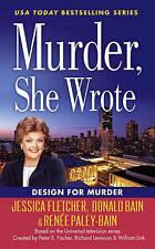 Murder, She Wrote: Design For Murder by Bain, Donald, Paley-Bain, Renee, Fletche