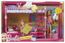 Mattel T7534 Barbie Sisters Sleeptime Bedroom and Stacie Doll Set ...