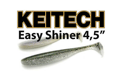 """Keitech Easy Shiner 5/"""" Toxic Chartreuse"""