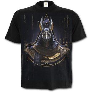 Spiral-Direct-ANUBIS-ASSASSINS-CREED-T-Shirt-Blade-Licensed-Brotherhood-Top-Tee