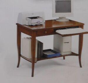SCRIVANIA SCRITTOIO ARTE POVERA DA 107 CM | eBay