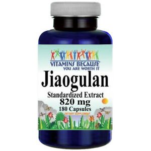 Jiaogulan-Standard-Extract-820mg-180Caps-Gynostemma-Pentaphyllum-AMPK-Activator