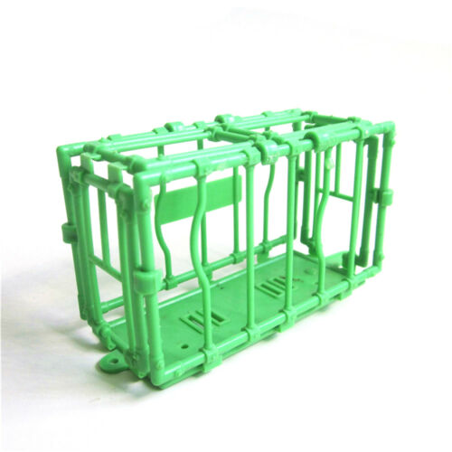 11CM Plastic Animal Fence Four Sides Disassembled Cage model Accessories HICA