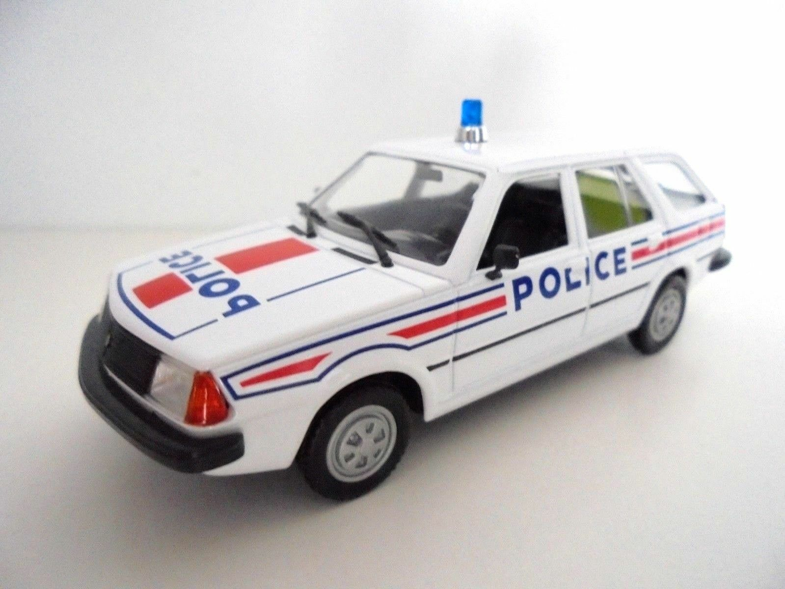 RENAULT RENAULT RENAULT 18 BREAK 1981 POLICE FRANCAISE NOREV HACHETTE 1 43 POLIZEI POLITIE 8266d6