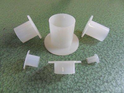 50 Stück Kunststoffschrauben Linsenkopf DIN 7985 Polyamid PA 6.6 natur M3X12