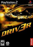Sealed Driv3r Ps2 Video Game Driving Racing Missions Challenges Driver-3