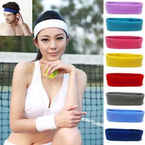 Promo-Codes Preis vergleichen gutes Angebot Details zu Damen/Männer Baumwolle Stirnband Haarband Elastisch Yoga Sport  Hair Band