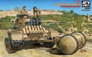 Valentine Mk III avec rotatrailer