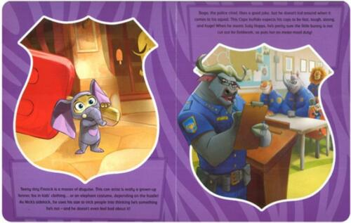 Figures Map Zootropolis My Busy Book