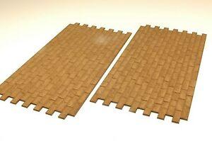 te-minatur 3900 Mauerplatte Sandstein 28 x 14 cm Spur 0 (2 Stück)