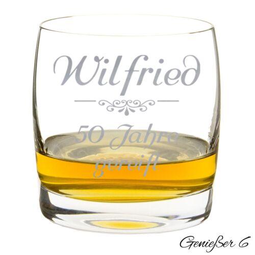 Whiskyglas Whiskybecher mit Gravur für Genießer individuell mit Namen