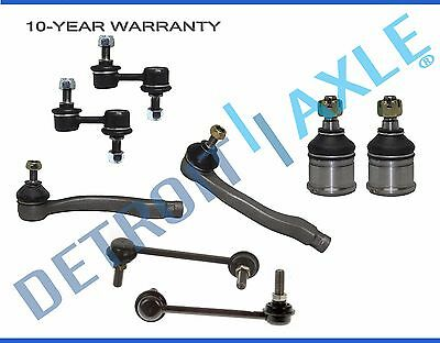 2 Front Sway Bar Links Detroit Axle All 4 Inner /& Outer Tie Rod New Complete 10pc Front Suspension Kit for Honda CR-V 10-Year Warranty- Both 2 Lower Ball Joint Front Lower Control Arms 2 Both