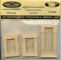 135th Construction Battalion 1:35 Rectangular Granite Window Door Facing Co0008 on sale