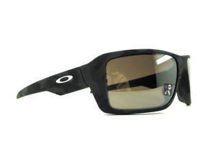 00b302f1e4 oo9380-20 66 Oakley Sunglasses Double Edge Black Camo Prizm Black ...