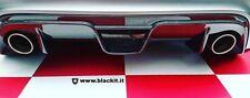 Estrattore posteriore 500 Abarth Carbonio EXTREME griglia