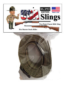 Rifle-Sling-OD-Green-Mil-Spec-2-Point-Gun-Sling