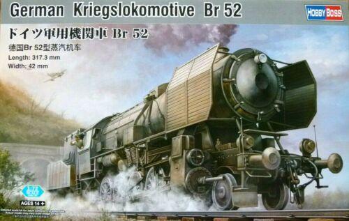 Hobbyboss 1:72 Br 52 Allemand Kriegslokomotive Locomotive Modèle Kit