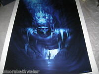 Uncharted 2 3 Ice Temple Limited Edition Official Print Lithograph 245 Numbered