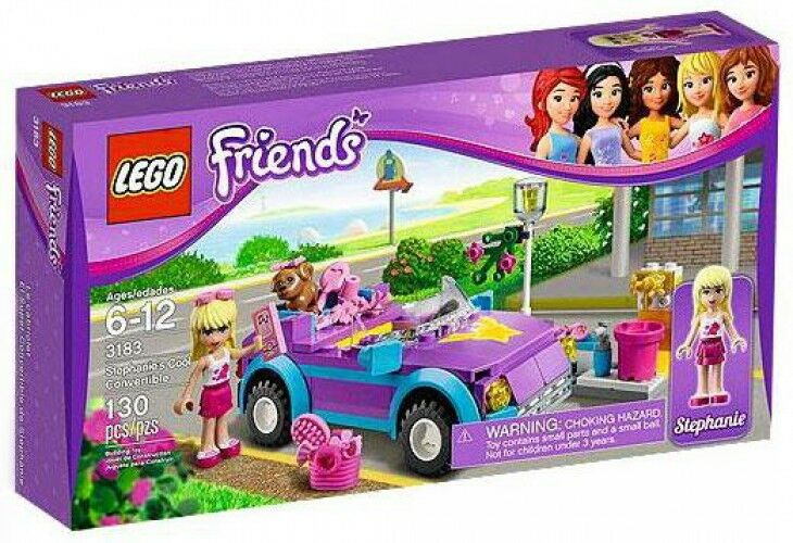 LEGO Friends Stephanie's Cool Convertible Set  3183