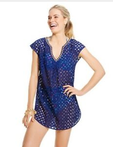 069439fead30d Lilly Pulitzer For Target - Women's Eyelet Beach Cover Up - NWT ...