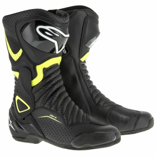 New Alpinestars SMX 6 v2 Vented Boots Street Boot Motorcycle w// Free Shipping