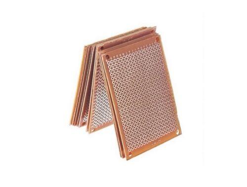 BASETTA MILLEFORI RAMATA 5X7 CM PCB scheda piastra sperimentale 50x70 vetronite