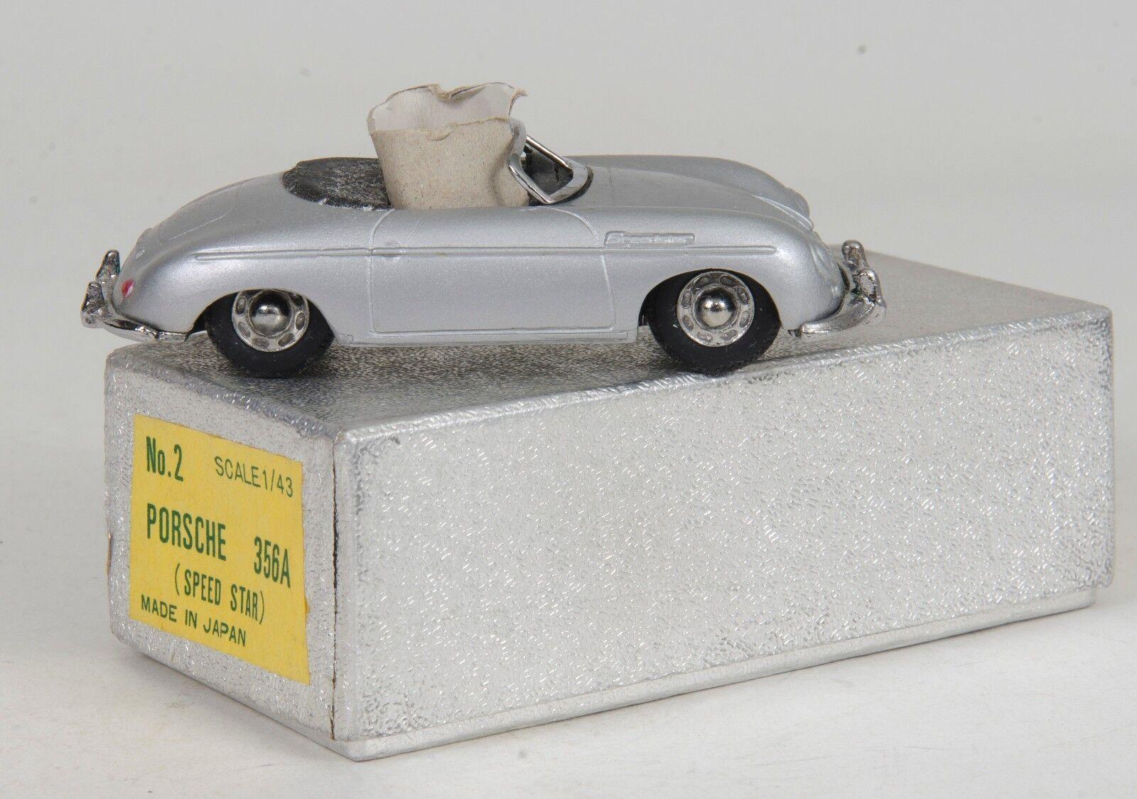 Porsche 356A 1 43 Scale Very Rare Japanese model. Boxed. Original 1970's