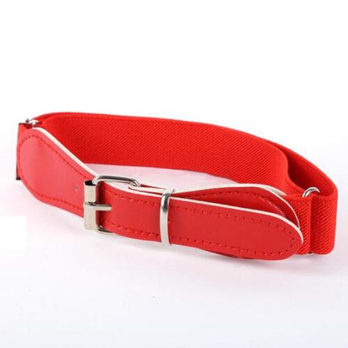 12 Colors forToddler Boy Girl Adjustable Belt PU Leather Casual Infant Waistband