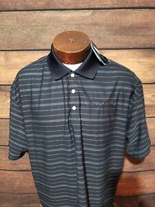 Nike-Golf-Mens-2XL-XXL-Blue-Striped-Short-Sleeve-Golf-Polo-Shirt-New