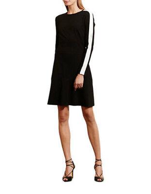 Lauren Ralph Lauren Jersey Drop Waist Dress Black 2