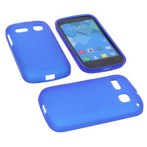 Funda-para-Alcatel-one-touch-Pop-C2-Funda-para-movil-carcasa-TPU-AZUL-OSCURO