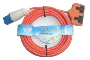 CARAVAN-CAMPING-MAINS-HOOK-UP-CABLE-CAMPING-EXTENSION-LEAD-MATORHOME-HOOK-UP