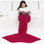 Mermaid-Tail-Crocheted-Sofa-Snuggie-Blanket-Carpet-Knit-Soft-and-Warm-Adult miniatura 9
